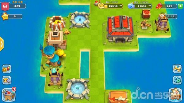 评测:称霸海岛玩转逆塔防       《海岛争霸》画面采用unity3d引擎