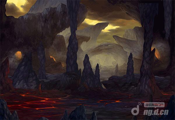西方魔幻飓风来袭猎龙高手战斗场景原画首曝光